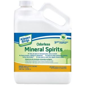 Klean Strip Green 1 Gal Odorless Mineral Spirits Substitute Gkgo75ca In 2020 Mineral Spirits Paint Thinner Stripping Paint