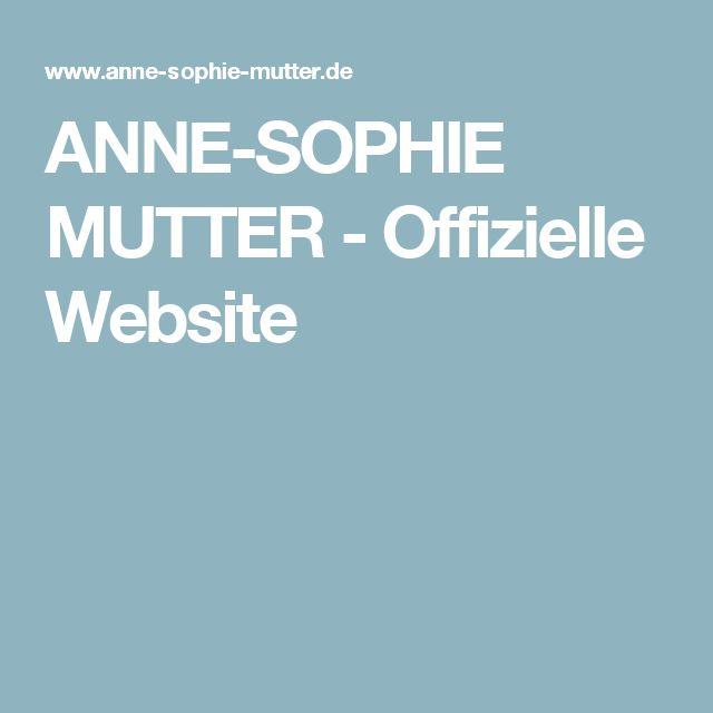ANNE-SOPHIE MUTTER - Offizielle Website