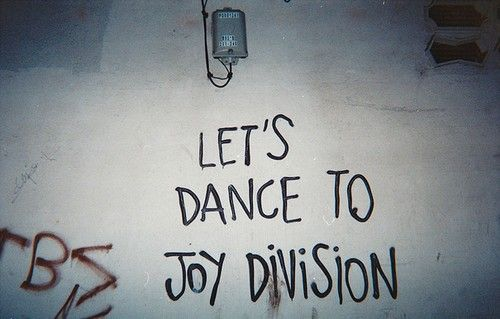 Shouldn't we all dance to Joy Division? Or at least we should dance to Let's Dance To Joy Division.