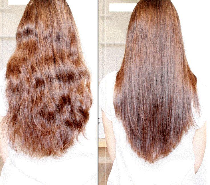 Lisser ses cheveux naturellement