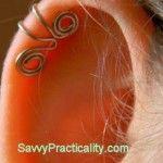 DIY ear cuffsCrafty, Beautiful, Wire Ear Cuffs, Wire Ears, Piercings For Your Ears, Wire Crafts, Diy Ears, Ears Piercing, Ears Cuffs
