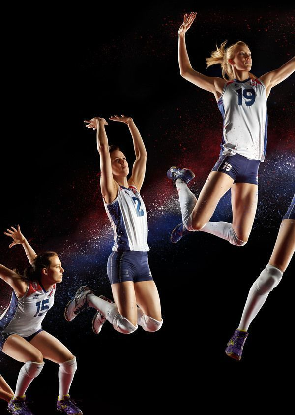 Tendance Basket 2017  GB Olympic Volleyball Team by Simon Derviller via Behance