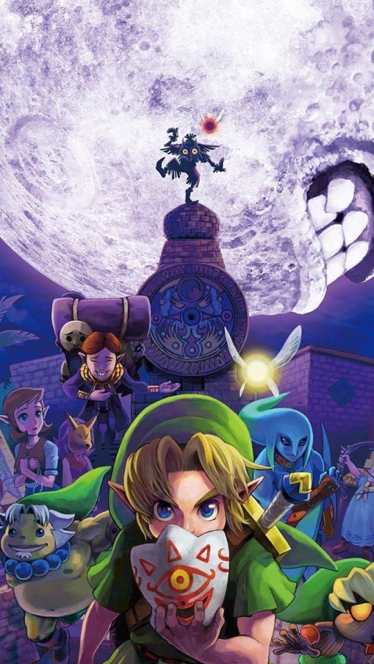 Pin On Zelda Wallpapers Ocarina of time iphone wallpaper