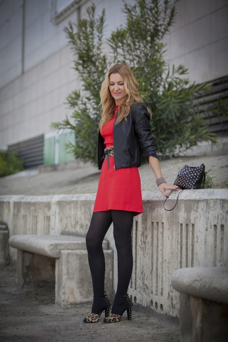 RED WITH LEOPARD by Conchy Copé on @Sbaam http://sba.am/l26joto0b0g