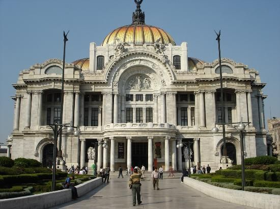 Mexico City's Palacio de las Bellas Artes is home to one of the greatest muralists, Diego Rivera.