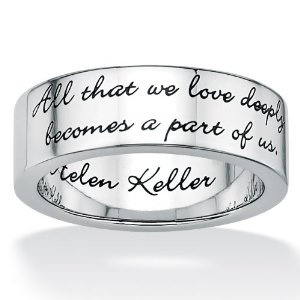 Love this!: Tattoo Ideas, Messages Bands, Helen Keller Quotes, Steel Inspiration, Tattoo Quotes, A Tattoo, Inspiration Helen, Keller Messages, Stainless Steel
