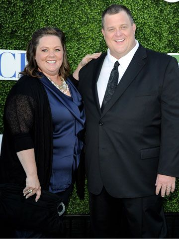 Melissa and Billy Gardell