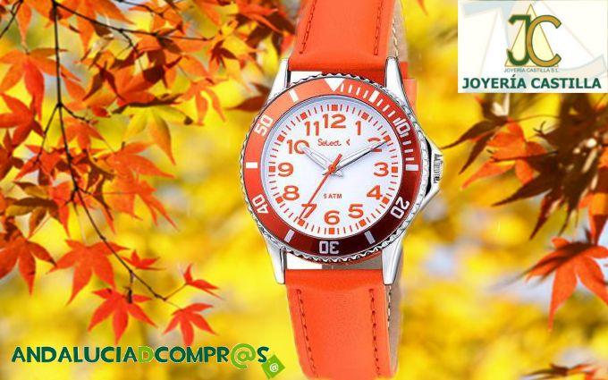 Para que este otoño no se te venga el tiempo encima Joyería Castilla nos ofrece una gran selección de relojes.  Descúbrelos en Andalucía de Compras : https://www.andaluciadecompras.es/portal/web/joyeria-castilla-s.l.