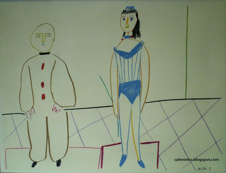 Pablo Picasso - a drawing from Historical Museum in Sanok