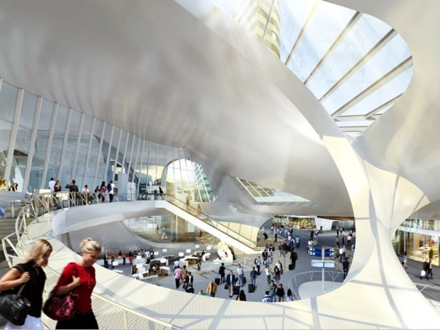 Arnhem Central Station  by UNStudio