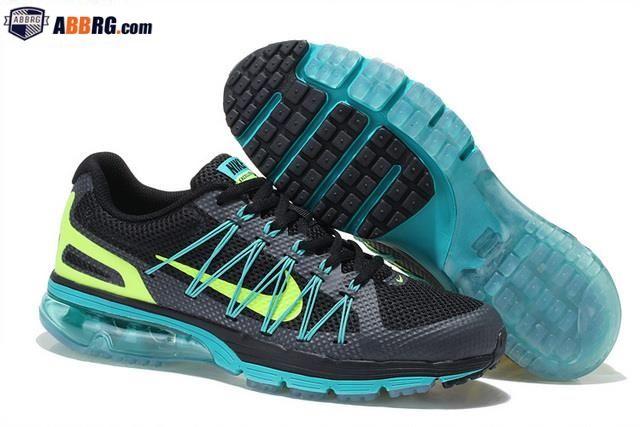 New Air Max 2020 Semi-palm Cushion Mens Running Shoes Black Green