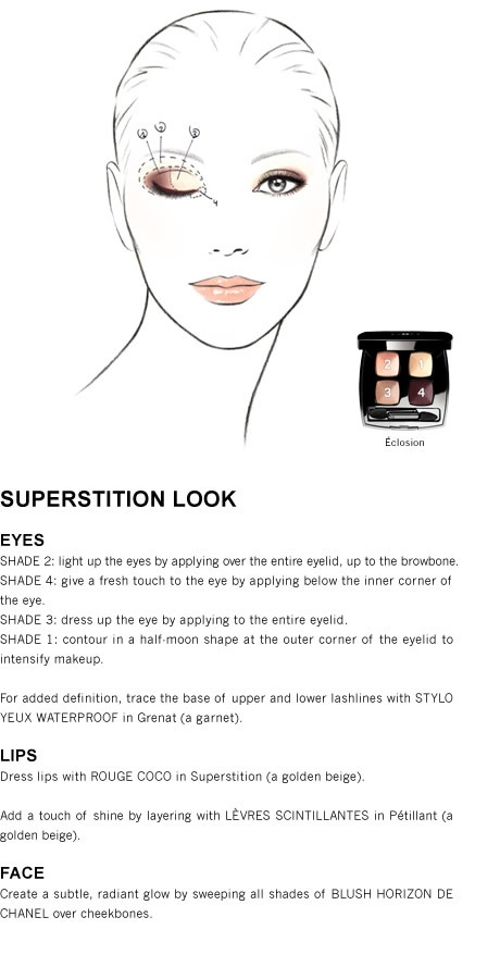 Chanel- Superstition Look