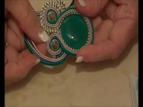Absolute Beginners Soutache Elements 7 - Accent Half Circle, Damage Control & Open Centre Loop