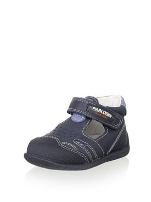 71% OFF Pablosky Kid's T-Strap Shoe (Navy)