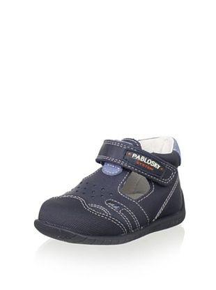 71% OFF Pablosky Kid's T-Strap Shoe (Navy)