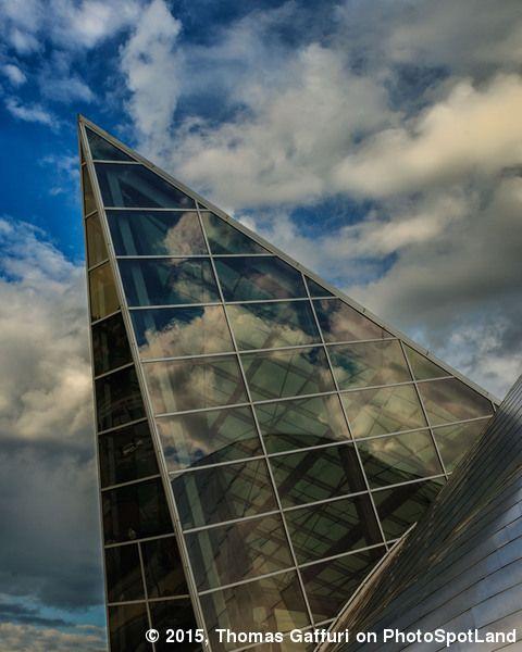 The Roanoke Art Museum is a unique angled structure. #Roanoke, VA, #USA. PhotoSpot by Thomas Gaffuri on www.photospotland.com/spots/370. #architecture #architecturephotography Visit us & create you spot on PhotoSpotLand!
