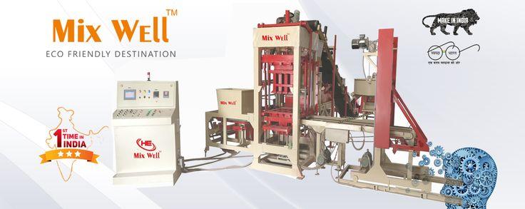 fly ash brick making machine in Ahmedabad, Gujarat, India