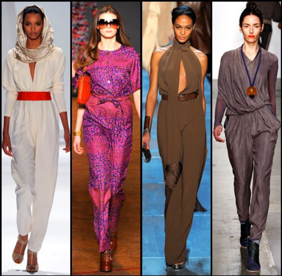 Fashion Jumpsuits | Beautiful Winter Different Styles Jumpsuits 2013
