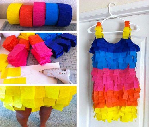 Creative Halloween Costume: DIY Piñata Costume! #diy #halloween #costume