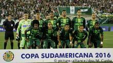 Atlético Nacional defende título para Chapecoense.  O clube colombiano pediu à Conmebol que a Chapecoense fosse declarada campeã da Copa Sul-Americana de 2016.