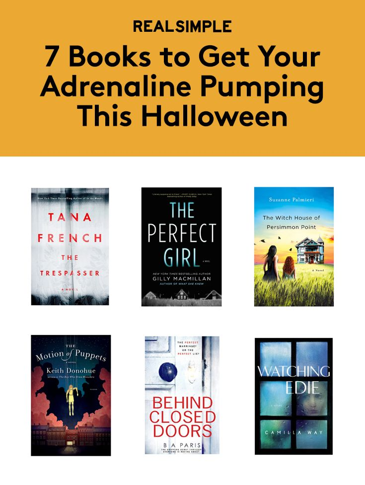 7 Books to Get Your Adrenaline Pumping This Halloween | Halloween is a time to embrace the scary. After all, it's when haunted houses, spooky jack-o-lanterns, and menacing costumes all make their grand annual appearance. If the cobwebs and skeletons adorning your neighbors' homes aren't quite putting you into the Halloween spirit, here are seven books to get you ready for the frightful holiday.