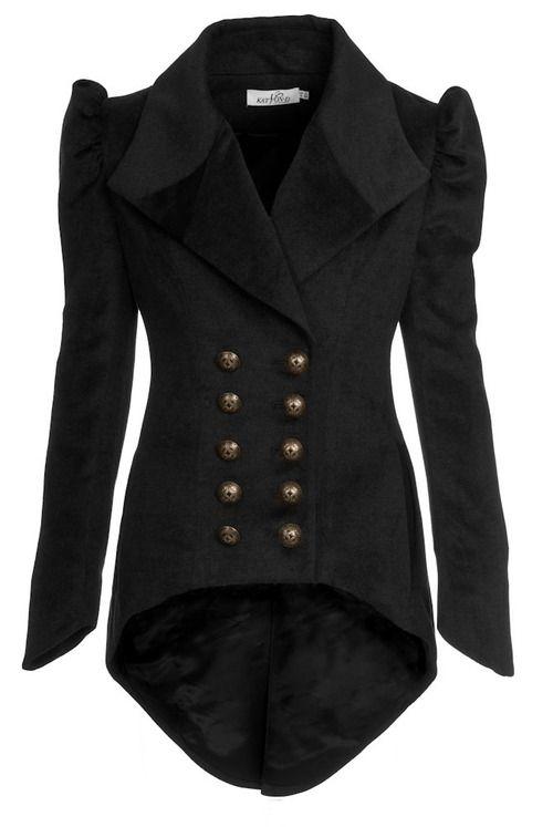 .luv military jackets styles.. practical authoritative sexy feminine