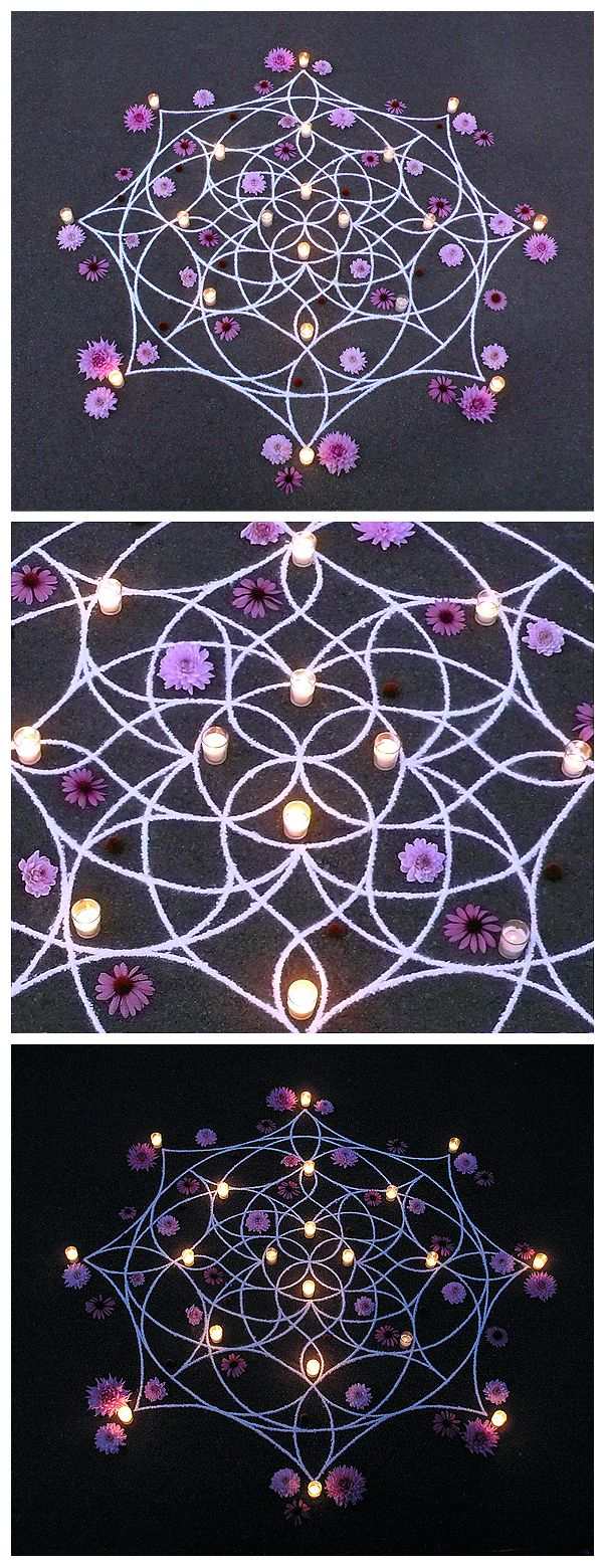 whitney krueger earthereal divine design art rangoli kolam flow feminine geometry light