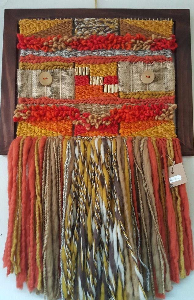 Telares Decorativos Lana Natural,  $ Desde  | Deco Tierra Spa