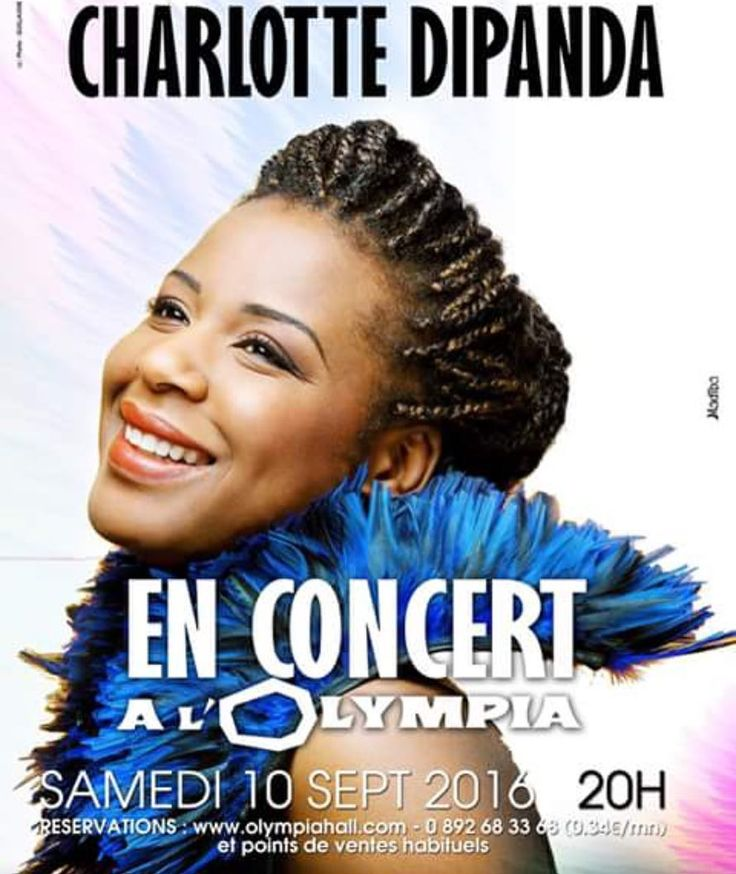 Proud to have one of our distributed #artists headlining at @olympia_bruno_coquatrix on Sept 10 2016. #charlottedipanda #cameroun #cameroon #worldmusic #show #concert #goldenvoice @fan_page_charlottedipanda #olympia #music #artists #singer #goodvibes