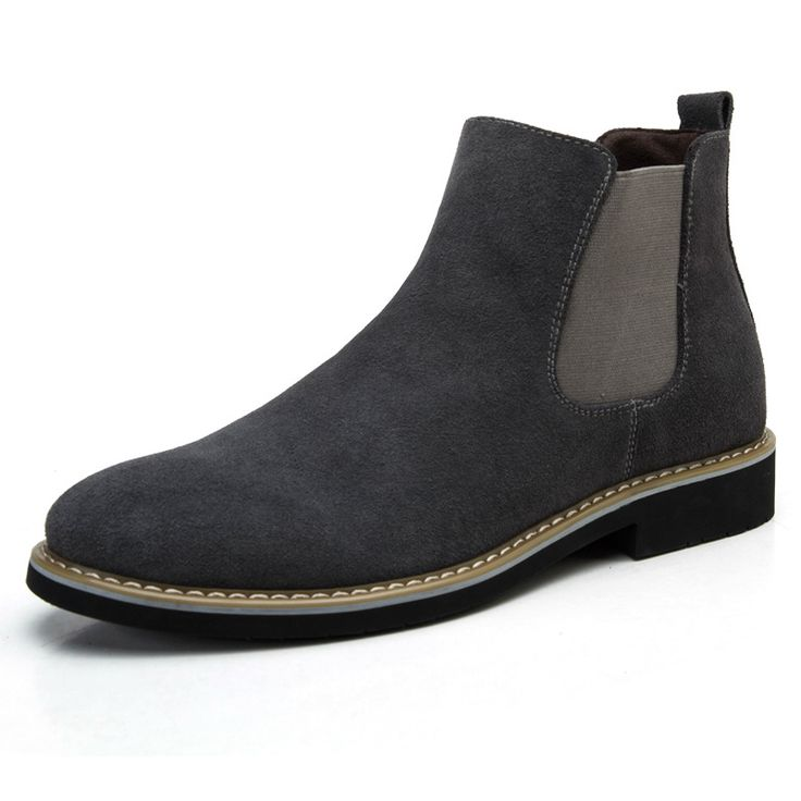 New 2017 Genuine Leather Men Boots Fashion sping/autumn Brand ankle boots Comfortable men Shoes botas hombre EPP074