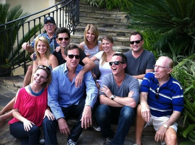 "The Cast Of ""Full House"" Reunited, except for the Olsen twins and Blake and Dylan Tuomy-Wilhoit"