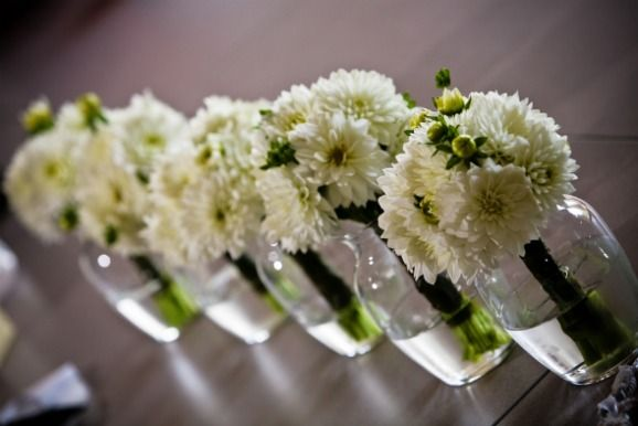 Lovely dahlia bouquets