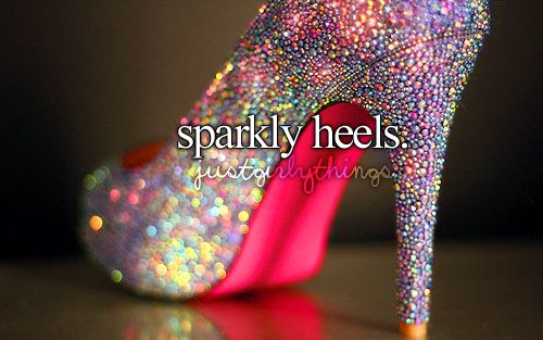 Things we love: Fashion, Wedding Shoes, Sparkly Heels, Sparkly Shoes, Glitter Shoes, Pink, Sparkle, High Heels, Glitter Heels
