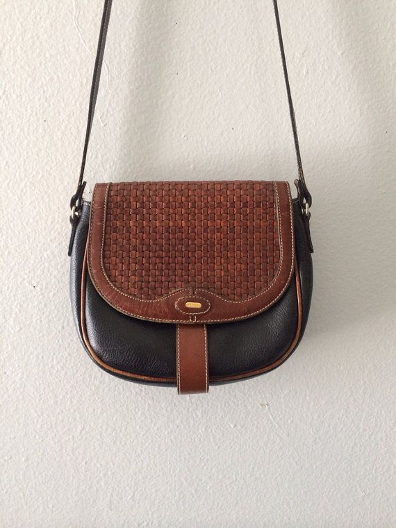 b98a6615118a Vintage 70s BALLY Woven Leather Mini by latenightcrepebuffet, $64.99 |  lucky me | Leather, Vintage 70s, Bally bag