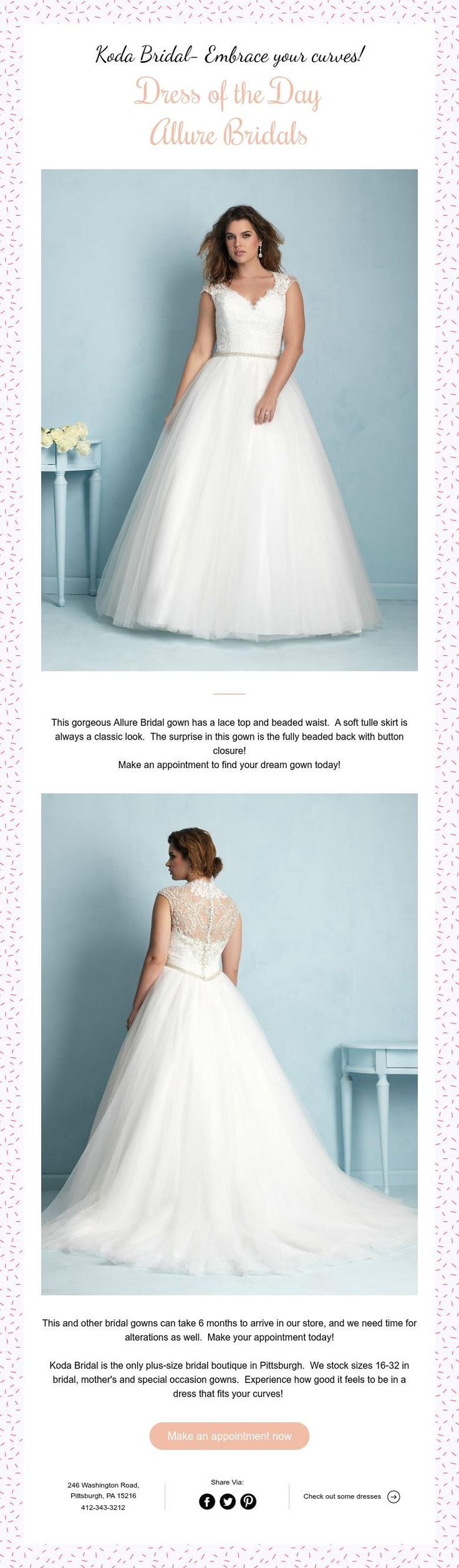 139 best Wedding Dresses at Koda Bridal-A plus size wedding boutique ...