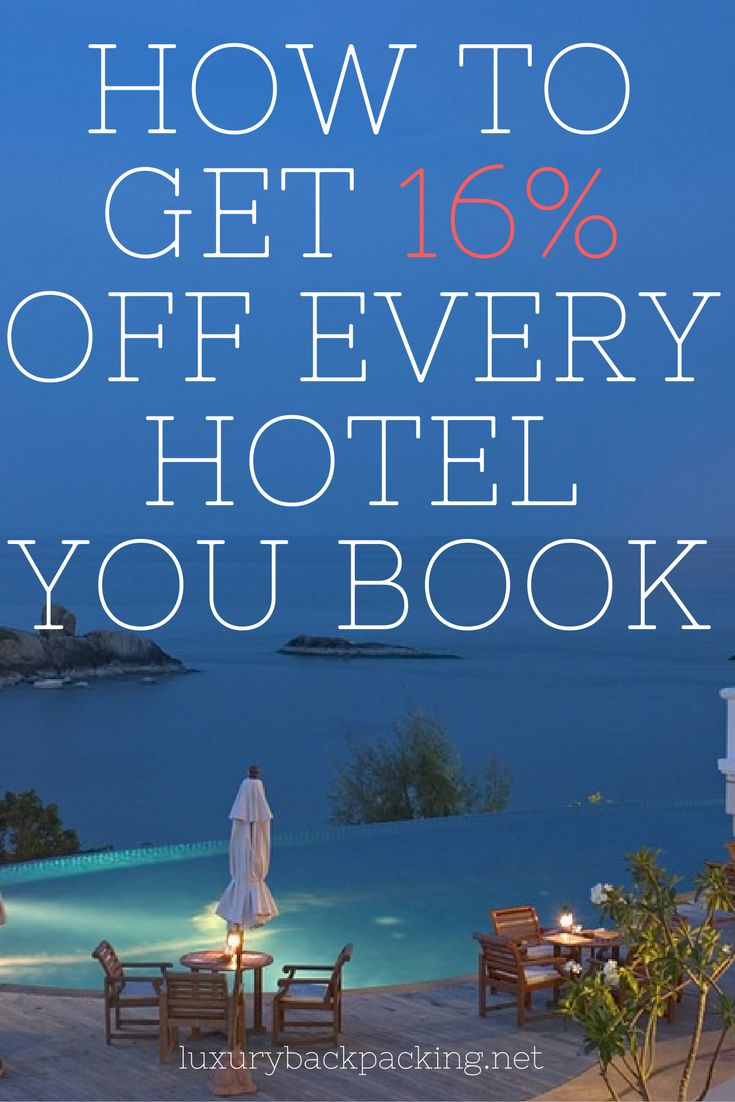 Save 16% on every hotel you book | How to find cheap accommodation | Travel Tips and Tricks | Money Saving Tips