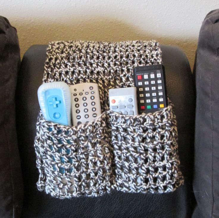 Knitting Pattern Remote Control Holder : Crochet Remote Control Holder My Crocheted Creations For Sale Pinterest ...