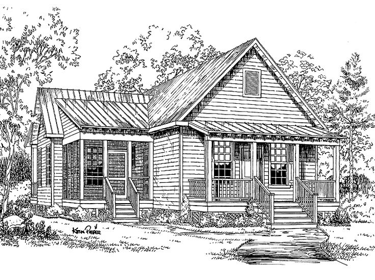 Southern Living Small Home Plans Southern Living House