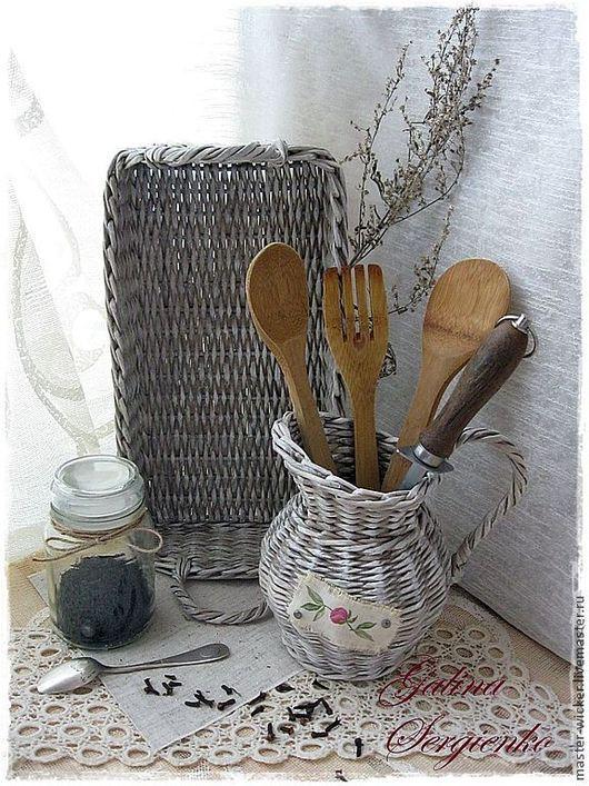 Кухня ручной работы. Ярмарка Мастеров - ручная работа. Купить Плетеный набор