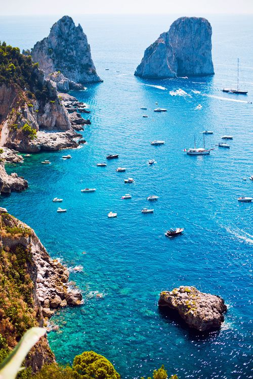 The Amalfi Coast or Amalfi Coast is one of great natural beauty coast located in the Province of Salerno, Italy.