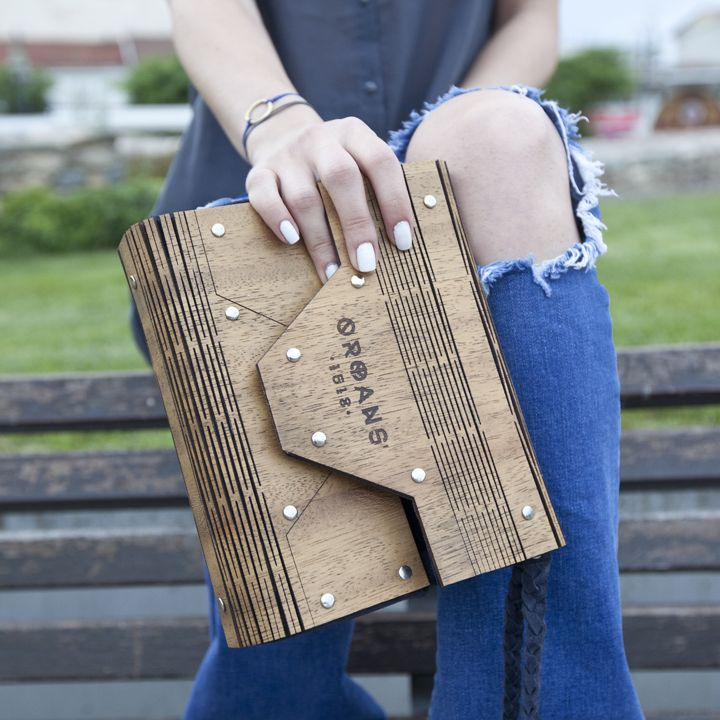 wooden purse summer 2016
