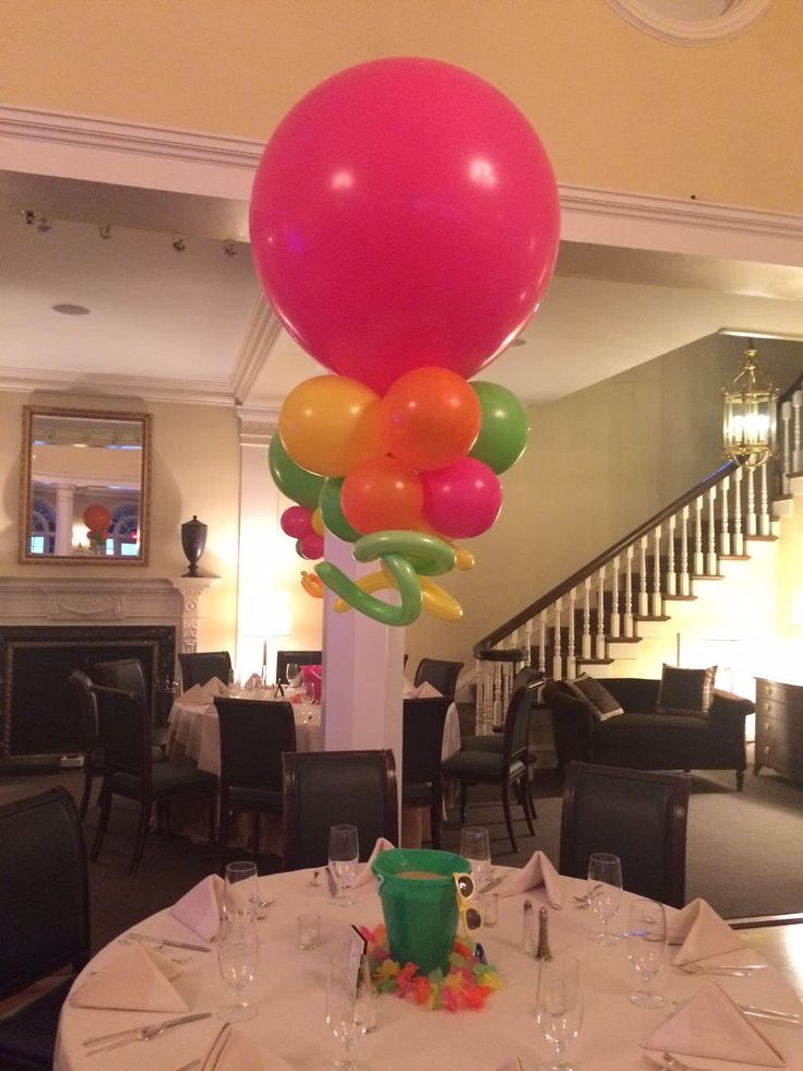 1000 images about balloons 3 foot on pinterest wedding for Balloon nets for centerpieces