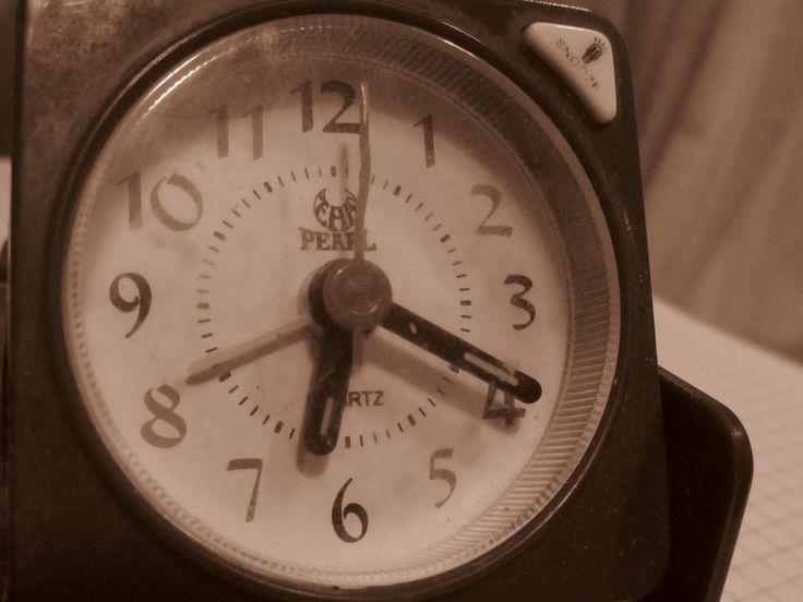 Día 12: Algo redondo, ese tiempo que se repite de principio a fin
