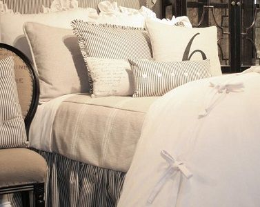 French Laundry Bedding,French Country Bedding,Country Bedding,100% Linen Bedding