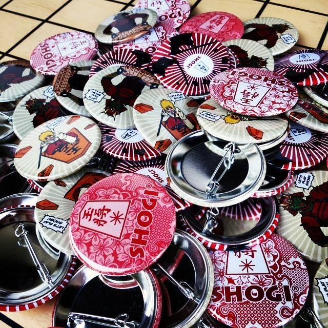 Shogi badges