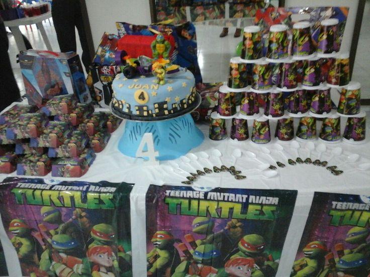 Ninja Turtles cake birthday