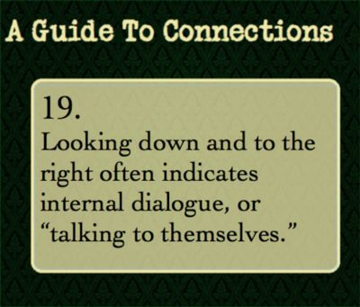 body language guide for writers
