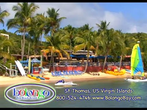 St. Thomas vacation packages and all inclusive deals in the US Virgin Islands at Bolongo Bay Beach Resort