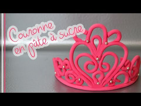Comment faire une Couronne en pâte à sucre - Fondant Crown - YouTube