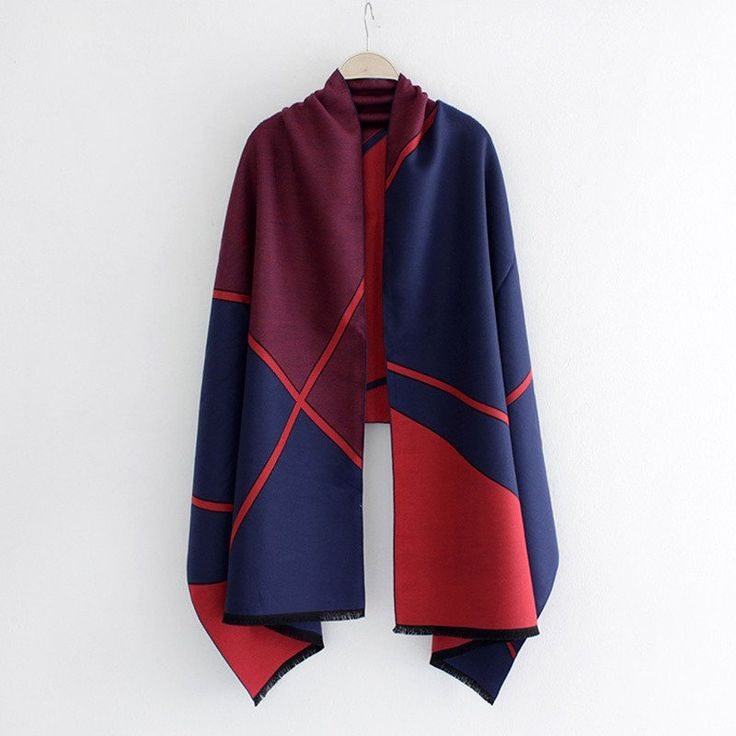 Geometric style Women Scarf - Available in 4 variants